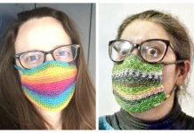 Knit Safety Perception Face Mask Free Knitting Pattern