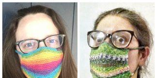 Knit Safety Perception Face Mask Free Knitting Pattern