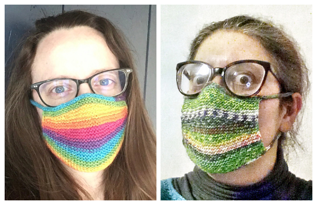 10 Knit Face Mask Free Knitting Patterns And Paid