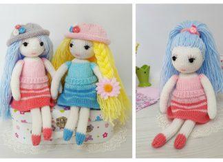 Knit The Girlfriends Doll Free Knitting Pattern