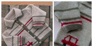 Jill Baby Cardigan Free Knitting Pattern