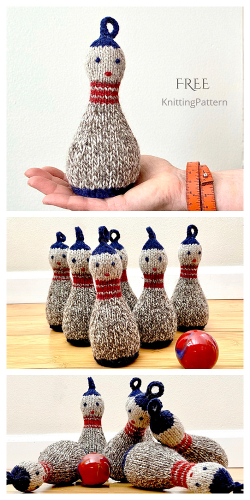 Knit Doll Skittles Free Knitting Pattern