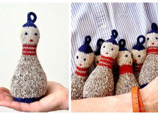 Knit Doll Skittles Free Knitting Pattern