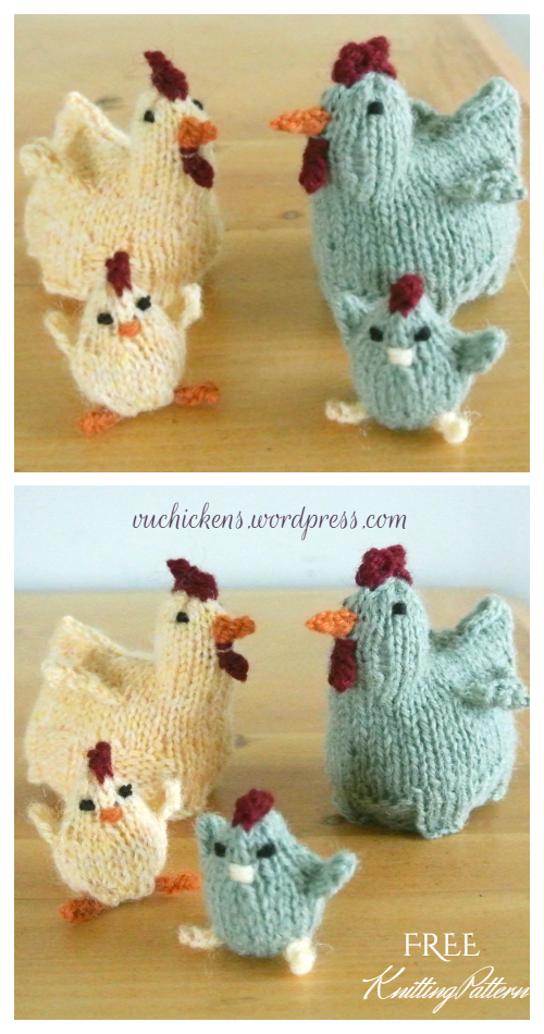 Knit Easter Chicks Egg Cozy Free Knitting Patterns