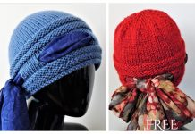 Knit Higher Love Beanie Hat Free Knitting Pattern