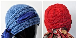 Knit Higher Love Beanie Hat Free Knitting Pattern