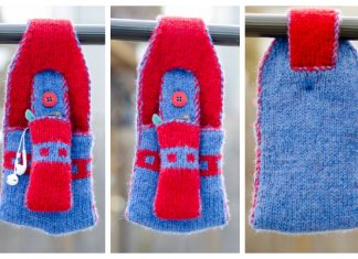 Knit Wheelchair Hanging Caddy Free Knitting Pattern - Limited Time