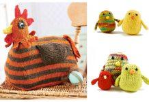 Amigurumi Easter Chicken Free Knitting Patterns