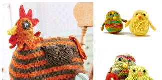 Amigurumi Easter Chicken Free Knitting Patterns