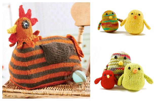 18 FREE crochet chicken patterns! – The Crochet Dude | 400x616