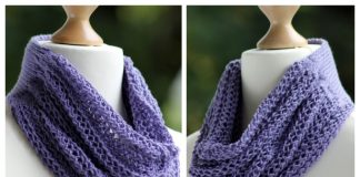 Knit Divine Drape Cowl Free Knitting Pattern