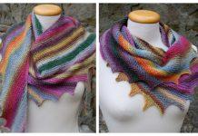 Knit Dragon Tail Scarf Free Knitting Pattern