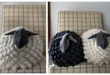Knit Sheep Pillow Free Knitting Patterns & Paid