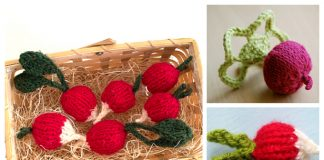 Knit Radiant Toy Radish Free Knitting Patterns