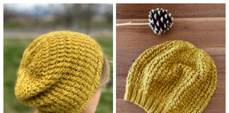 Knit Victoria Street Cable Hat Free Knitting Pattern