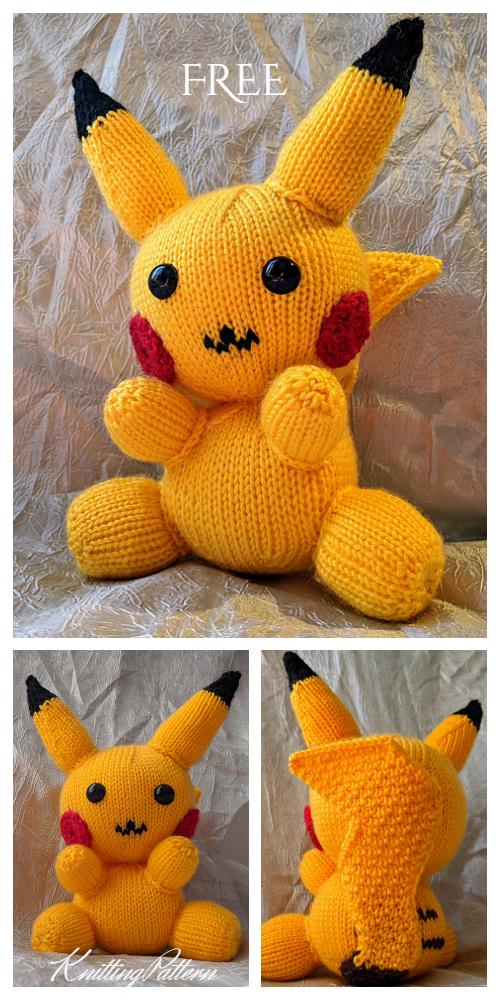 i crochet things: Pattern: Pikachu Amigurumi REVAMP | 1000x500