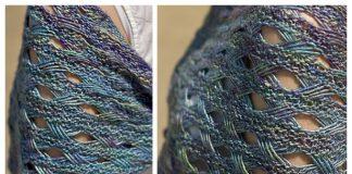 Drop Stitch Lace Shawl Free Knitting Pattern