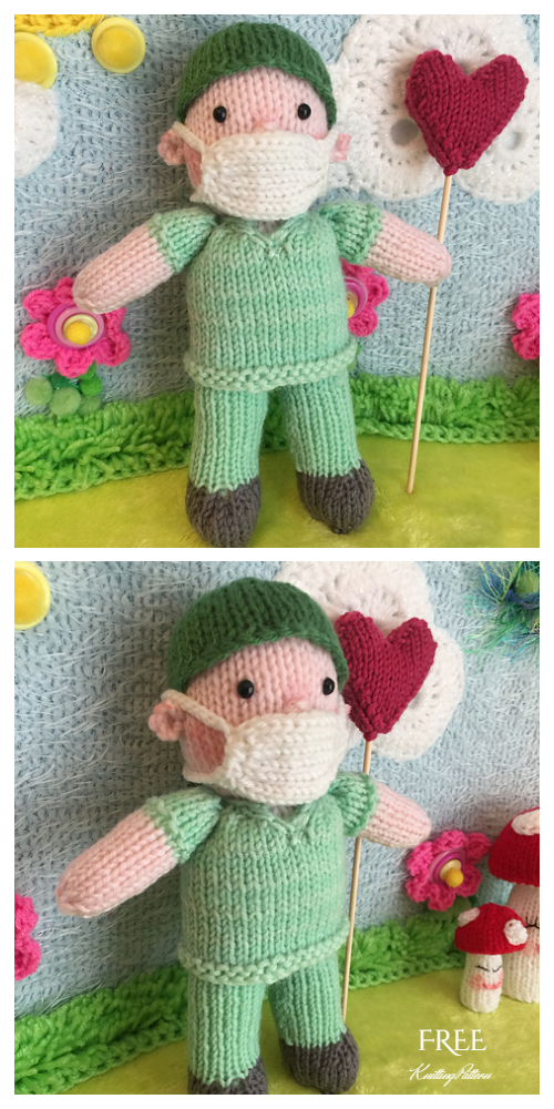 Easy Knit Doctor Doll Free Knitting Patterns