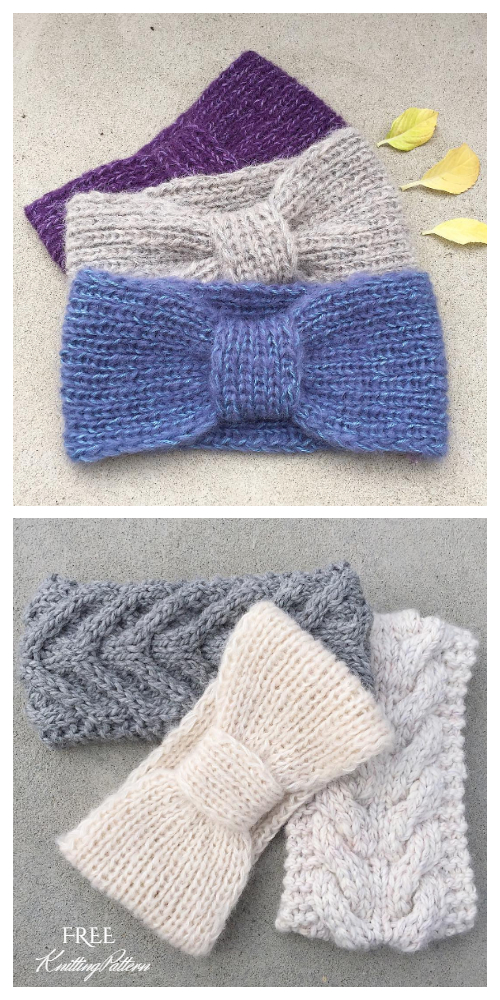 Easy Knit Miss Headband Free Knitting Patterns