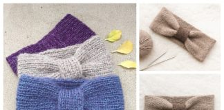 Easy Knit Headband Free Knitting Patterns