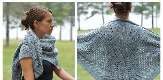 Knit Campside Shawl Free Knitting Pattern