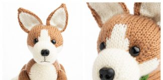 Knit Corgi Puppy Free Knitting Pattern
