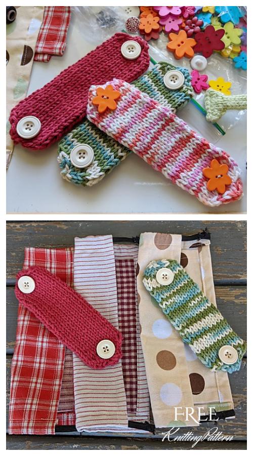 10 Knit Ear Savers Free Knitting Patterns & Paid ...