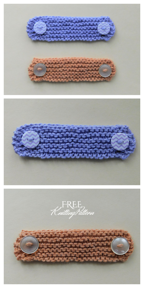 Easy Ear Saver Mask Extenders Free Knitting Patterns
