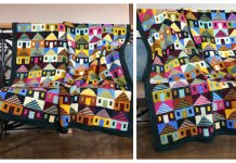 Knit Safe at Home Blanket Knitting Pattern