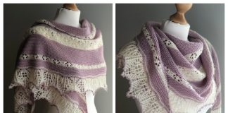 Knit Sweet Dreams Lace Shawl Free Knitting Pattern