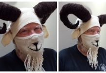Knit Silly Billy Goat Ear Warmers Free Knitting Pattern