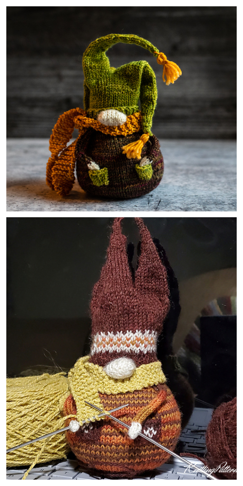 Amigurumi Gnome Knitting Patterns