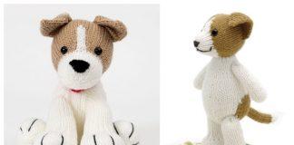 Amigurumi Jack Russell Toy Dog Free Knitting Patterns