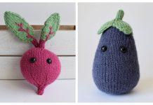 Amigurumi Toy Vegetable Free Knitting Patterns