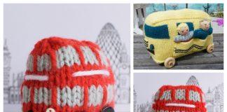 Amigurumi Toy Bus Free Knitting Patterns