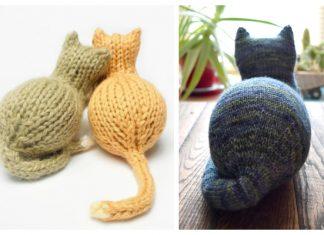 Amigurumi Toy Polar Cat Free Knitting Patterns