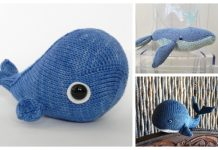 Amigurumi Toy Whale Free Knitting Patterns & Paid