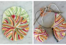 Easy as Pie Dishcloth Free Knitting Pattern