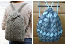 Knit Backpack Free Knitting Patterns