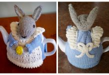Knit Bunny Rabbit Tea Cozy Free Knitting Pattern