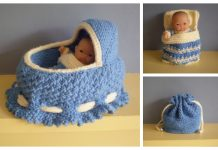 Knit Cradle Bag Free Knitting Pattern