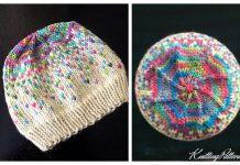 Knit Fair Isle Kaiya Mei Hat Free Knitting Pattern