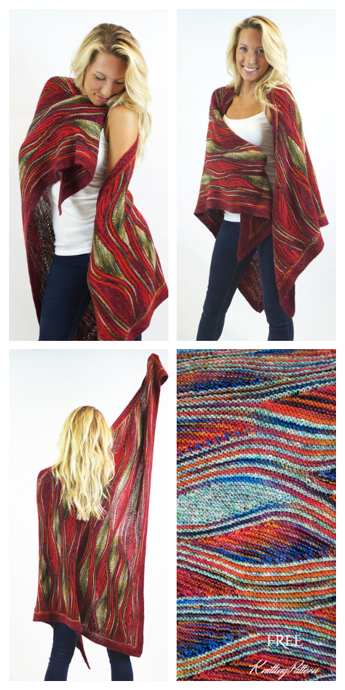 Knit Grace Shawl Free Knitting Patterns