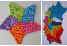 Knit Starfish Cloth Free Knitting Pattern