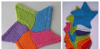 Knit Starfish Cloth Free Knitting Pattern