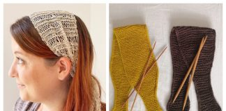 Knit Summer Headband Free Knitting Patterns