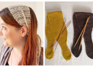 Knit Summer Headband Free Knitting Patterns