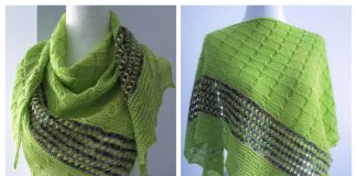 Knit Urban Living Lace Shawl Free Knitting Pattern