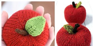Amigurumi Apple Free Knitting Patterns