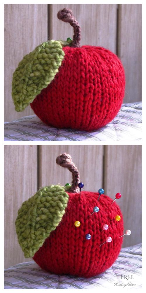 Amigurumi Apple Free Knitting Patterns - Knitting Pattern